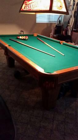 Solo 174 La Vista Pool Table In Excellent Condition 53