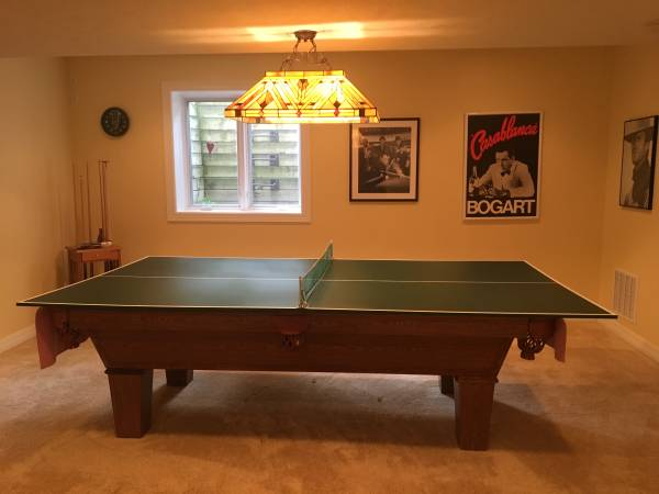 Solo 174 Omaha Pool Table With Ping Pong Topper 39
