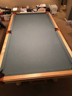 Solo 174 Omaha Olhausen Pool Table 60
