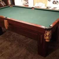 Very Nice Antique Pool Table