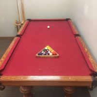 A.E. Schmidt Custom Pool Table