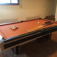 Pool Table  C.L. Bailey CO.