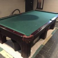 Olhausen 9' 6 Leg Custom Pool Table