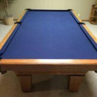8' Olhausen Billiard Pool Table