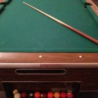 Full Size Coin Operated Pool Table