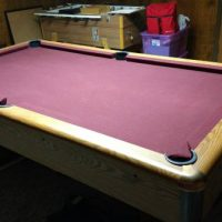 9Ft 3 Piece Slate Pool Table