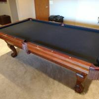Pool Table Black Felt