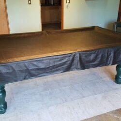 9ft 3-pc slate Brunswick Timberfalls Pool table